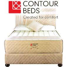 Contour Beds and Mattresses for sale at Beds and More in Parow Cape Town