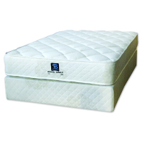 Samson-Beds Range for sale at the best prices at Beds and More in Parow Cape Town Double tempered bonnell innerspring. Layers of high density foam and dura-wedges for extra support and comfort. High quality quilted knit material. 80 chip foam. White colour. 20 year warranty 120kg per person weight recommendation Mattress thickness: 27cm Base height (including legs): 37cm Total height (including legs): 64cm PRODUCT PRICING Double 137cm Mattress: R 2 650.00 Base and Mattress: R 3 290.00