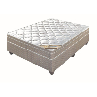 Edblo 4 Crown Support Top Bed - buy at Lowest Priced at Beds and More Parow Cape Town PRODUCT PRICING Single 91cm Mattress only. R 2 090.00 Base and Mattress. R 2 440.00 ¾ 107cm Mattress only. R 2 250.00 Base and Mattress R 2 720.00 Double 137cm Mattress only. R 2 470.00 Base and Mattress. R 3 030.00 Queen 152cm Mattress only. R 2 670.00 Base and Mattress R 3 340.00
