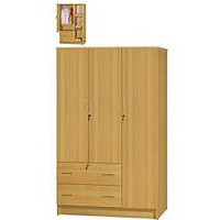wardrobe - cupboards_beds and more-parow-cape - 3 Door 2 Drawer wardrobe