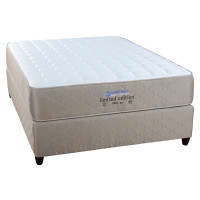 Premium double tempered bonnel spring coil mattress. 2yr guarantee. 15yr warranty. 140kgs per person weight range. White Jacquard finish. Firm feel. PRICING Single 91cm mattress only. R 2 360.00 base and mattress. R 3 100.00 ¾ 107cm mattress only. R 2 600.00 base and mattress R 3 400.00 Double 137cm mattress only. R 3 150.00 base and mattress. R 4 080.00 Queen 152cm mattress only. R 3 530.00 base and mattress R 4 570.00 King 182cm mattress only. R 4 460.00 base and mattress R 5 950.00 DIMENSIONS Mattress thickness : 28cm Base height (incl. legs) : 36cm Total height (incl. legs) : 64cm